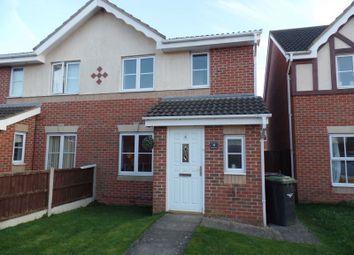 Thumbnail 3 bed semi-detached house to rent in Ermine Court, Bracebridge Heath, Lincoln