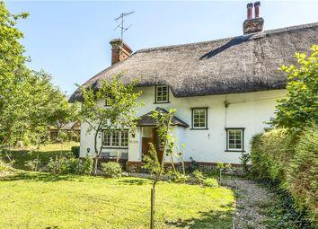Thumbnail 3 bedroom semi-detached house for sale in Blandford Road, Iwerne Minster, Blandford Forum, Dorset