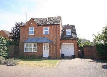 Thumbnail 4 bed detached house for sale in Ditchford Close, Wootton, Northampton