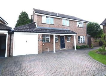 Thumbnail 4 bed detached house for sale in Ashbury Drive, Blackwater, Camberley
