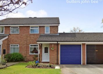 Thumbnail 2 bed semi-detached house for sale in Penrith Close, Trentham, Stoke-On-Trent