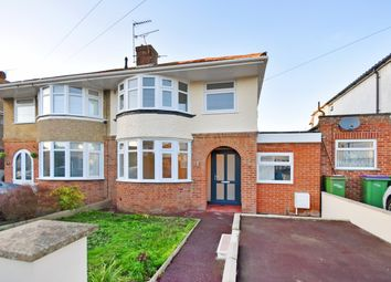 Thumbnail 3 bed semi-detached house for sale in Foreland Avenue, Folkestone