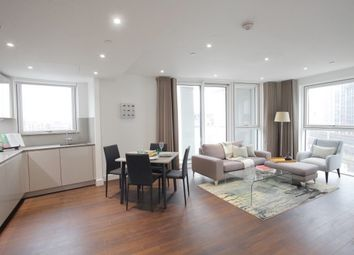Thumbnail 2 bed flat to rent in Haydn Tower, Nine Elms, London