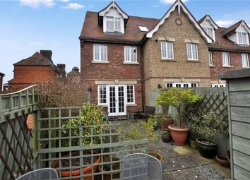 Thumbnail 3 bedroom end terrace house for sale in Corn Mill Court, West Road, Saffron Walden, Essex