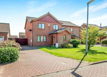 Thumbnail 3 bed semi-detached house for sale in Swaby Close, Marshchapel, Grimsby