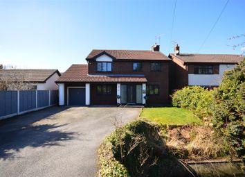 Thumbnail 4 bed detached house for sale in Regal Close, Great Sutton, Ellesmere Port