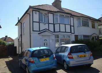 Thumbnail 3 bed semi-detached house to rent in Oakwood Drive, Edgware, Middlesex