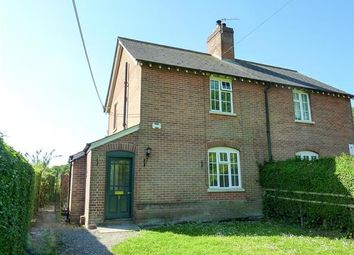 Thumbnail 3 bed semi-detached house to rent in Brick Kiln Cottages, Clarendon Park, Salisbury