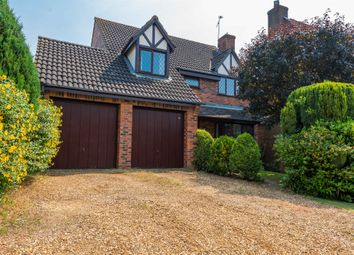 Thumbnail 4 bed detached house for sale in Olympia Close, Northampton