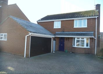 Thumbnail 4 bedroom detached house for sale in Ibstock Close, Northampton