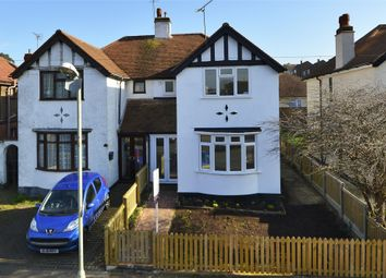 Thumbnail 3 bed semi-detached house for sale in Downs Park, Herne Bay, Kent