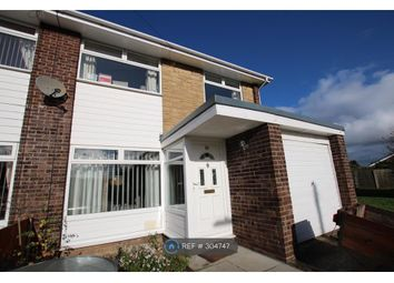 Thumbnail 3 bed semi-detached house to rent in Moelwyn Close, Bryn-Y-Baal, Mold