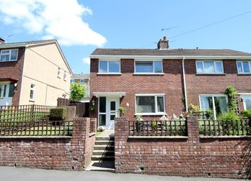 Thumbnail 3 bed semi-detached house for sale in Floral Avenue, Fairview, Blackwood