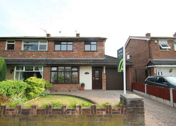 Thumbnail 3 bed semi-detached house for sale in Camborne Road, Burtonwood, Warrington