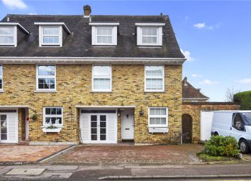 Thumbnail 4 bed terraced house to rent in Theydon Grove, Epping, Essex