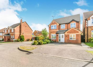 Thumbnail 4 bed detached house for sale in Tyler Way, Thrapston, Kettering