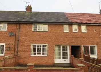 Thumbnail 2 bedroom terraced house to rent in Elgar Road, Hull