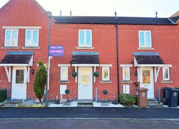 Thumbnail 2 bed terraced house for sale in Moray Close, Church Gresley, Swadlincote