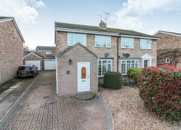 Thumbnail 3 bed semi-detached house for sale in Laburnum Avenue, Cranswick, Driffield