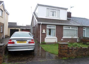 Thumbnail 3 bed semi-detached bungalow for sale in Heol Croesty, Pencoed, Bridgend, Bridgend.