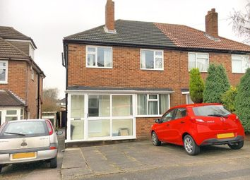 Thumbnail 3 bed semi-detached house for sale in Pinewood Close, Yew Tree Estate, Walsall, West Midlands