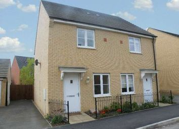 Thumbnail 2 bed semi-detached house to rent in Apollo Avenue, Cardea, Stanground, Peterborough