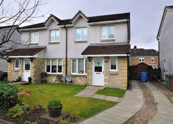 Thumbnail 3 bed semi-detached house for sale in Moubray Gardens, Cambus, Alloa