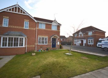 Thumbnail 3 bedroom semi-detached house for sale in Fordham Drive, Sacriston, Durham