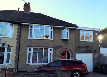 Thumbnail 5 bedroom semi-detached house for sale in Lynton Avenue, Kingsthorpe, Northampton