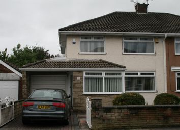 Thumbnail 3 bed semi-detached house to rent in Shrewsbury Avenue, Aintree Village, Liverpool