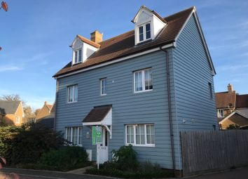 Thumbnail 5 bed detached house for sale in Wisteria Drive, Wymondham