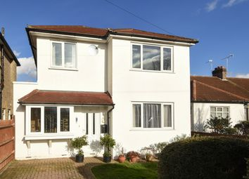 Thumbnail 4 bed detached house for sale in Francis Close, Ewell, Epsom