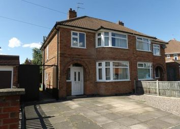 Thumbnail 3 bedroom semi-detached house for sale in Fieldgate Crescent, Birstall, Leicester, Leicestershire