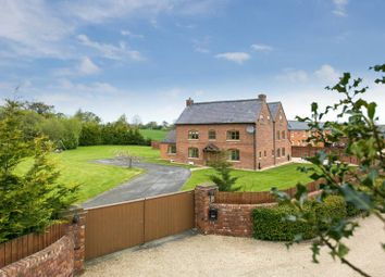 Thumbnail 6 bed detached house for sale in Ridley Green Farm, Wrexham Road, Ridley, Tarporley, Cheshire