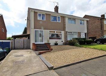 Thumbnail 3 bed semi-detached house for sale in Carlton Crescent, Beddau, Pontypridd, Rhondda, Cynon, Taff.