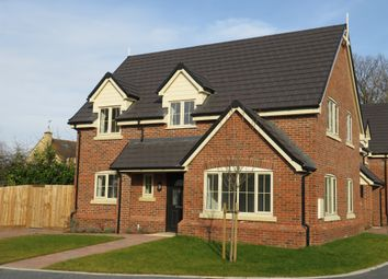Thumbnail 4 bed end terrace house for sale in Hardwick Court, Holme, Peterborough