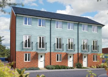 "Thumbnail 3 bed terraced house for sale in ""The Winchcombe"" at Valerian Gardens, Soham, Ely"