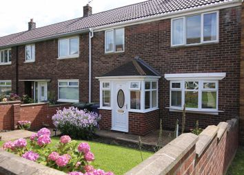 Thumbnail 3 bed terraced house for sale in Ascot Gardens, South Shields