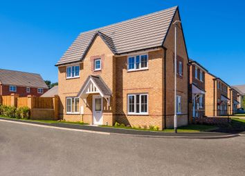 "Thumbnail 3 bed detached house for sale in ""Morpeth"" at Lime Pit Lane, Cannock"