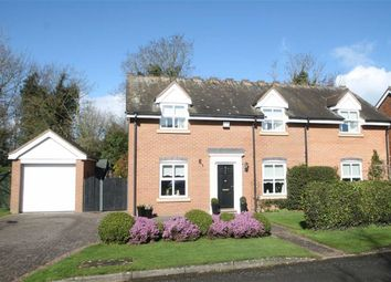 Thumbnail 4 bed detached house for sale in Hermitage Close, Westbury, Shrewsbury
