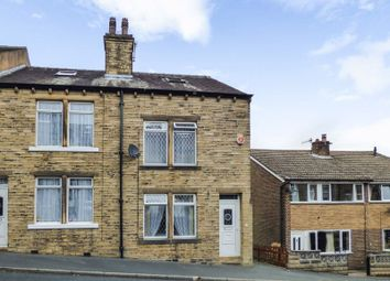 Thumbnail 3 bed terraced house for sale in North Street, Holywell Green, Halifax