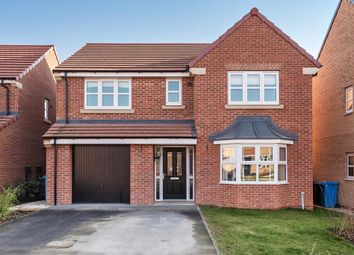 Thumbnail 4 bed detached house for sale in White Mill Drive, Pocklington, York