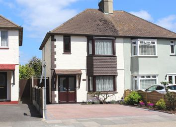Thumbnail 3 bed semi-detached house for sale in Carlingford Drive, Westcliff-On-Sea
