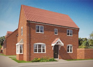 "Thumbnail 3 bedroom semi-detached house for sale in ""The Gainsborough"" at Norwich Road, Wymondham"