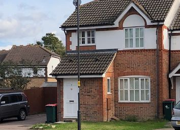 Thumbnail 3 bed end terrace house to rent in Goddard Close, Maidenbower, Crawley