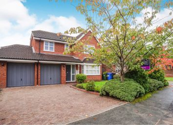 Thumbnail 4 bed detached house for sale in Newhaven Close, Cheadle Hulme