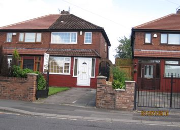 Thumbnail 2 bed semi-detached house to rent in Moorside Street, Droylsden, Manchester