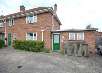 Thumbnail 3 bed semi-detached house for sale in Adams Road, Sprowston, Norwich, Norfolk