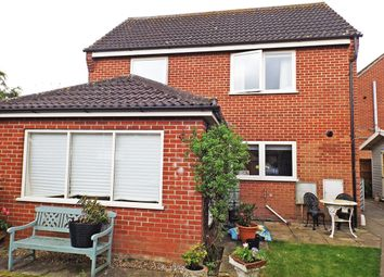 Thumbnail 3 bed detached house for sale in Robert Close, Wymondham