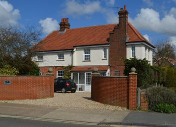 Thumbnail 4 bedroom detached house for sale in High Road West, Felixstowe